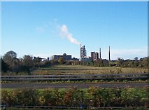 O0671 : Platin Cement Works, Drogheda, from the M1 by Eric Jones