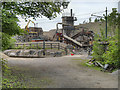 SK3455 : Quarry at Wakebridge by David Dixon