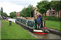 SP3684 : Hawkesbury Junction - steam narrowboat Tixall by Chris Allen