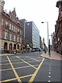 NZ4920 : View up Albert Road, Middlesbrough by Oliver Dixon