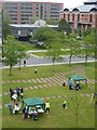 NZ4920 : Picnic, Victoria Square, Middlesbrough by Oliver Dixon