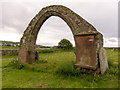 NX9820 : All that remains of old church at Moresby by Kim Fyson