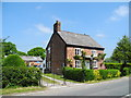 SJ5873 : Holly Cottage, Ruloe by John Topping