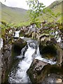 NH1216 : Waterfalls on the Allt na Cìche by Craig Wallace