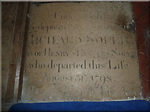 SU5355 : All Saints, Hannington: memorial (6) by Basher Eyre