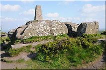 SE2065 : Trig point, Brimham Rock by Philip Halling