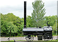 J4280 : Steam boiler, Cultra, Holywood by Albert Bridge