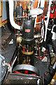 SP3684 : Hawkesbury Junction - steam narrowboat Laplander by Chris Allen