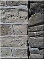 SE0339 : Ordnance Survey Cut Mark by Peter Wood