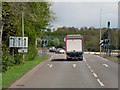 SP4641 : Hennef Way (A422) Approaching Industrial Estate by David Dixon