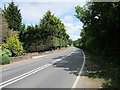 SJ4754 : The A534 (Broxton Road) near Clutton by Jeff Buck