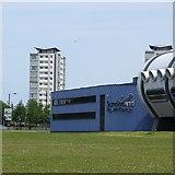NZ3958 : Sunderland Aquatic Centre by Richard Webb
