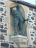 NO4202 : Alexander Selkirk statue, Main Street by kim traynor