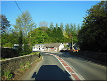 SX0780 : The A39 at Knightsmill Bridge by Ian S
