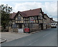 SO3149 : Overhanging building, Eardisley by Jaggery