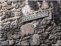 NT2673 : Flodden Wall plaque by Alan Murray-Rust