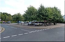 SO2956 : Crabtree Road car park, Kington by Jaggery
