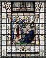 TQ2781 : St Mary, Wyndham Place - Stained glass window by John Salmon