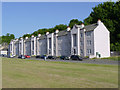 NS9981 : Tenements at Bo'ness (191-199 Corbiehall) by Alan Murray-Rust