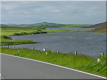 HU4141 : Loch of Asta, near Scalloway by Ruth Sharville