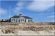 NJ6864 : Banff Marina Office by Leslie Barrie