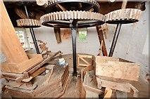 TM1678 : Billingford Mill - Stone floor by Ashley Dace