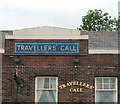 SJ9191 : Travellers' Call Signage by Gerald England