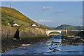 SN5780 : Bridge over Afon Ystwyth by Ian Capper