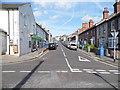 SU8550 : Queens Road from Sandford Road, Aldershot by David Howard