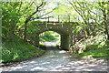 SD6390 : Bridge of dismantled railway over Jordan Lane by Roger Templeman