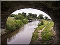 SJ8458 : Macclesfield Canal - Bridge 86 by Kim Fyson