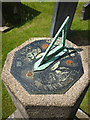 SD6546 : Sundial at Whitewell Church by Karl and Ali