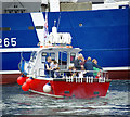 J5082 : Lifeboat exercise, Bangor harbour by Rossographer