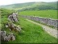 SD9478 : Buckden Rake, looking down towards Buckden by Christine Johnstone