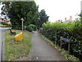 SO2956 : Path to former tramway, Kington by Jaggery
