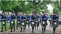 NJ0459 : European Pipe Band Championships 2013 (9) by Anne Burgess