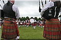 NJ0458 : European Pipe Band Championships 2013 (11) by Anne Burgess