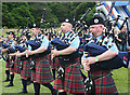 NJ0458 : European Pipe Band Championships 2013 (16) by Anne Burgess
