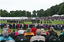 NJ0459 : European Pipe Band Championships 2013 (30) by Anne Burgess