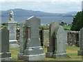 NS0956 : Kingarth Parish Church graveyard by Thomas Nugent
