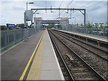 TQ8789 : Southend Airport railway station, Essex by Nigel Thompson