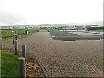 NS2107 : Maidens car park by Ann Cook