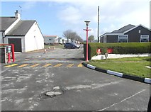 NS2107 : The entrance to Redgates Caravan Park by Ann Cook