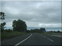 NZ2411 : The A66(M) slip road off the A1(M) northbound by peter robinson