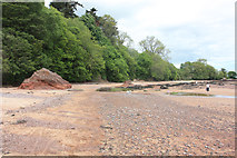 NH7358 : The northern end of Rosemarkie beach by Peter Church