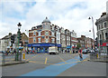 TQ2771 : Tooting Broadway:  A busy intersection by Dr Neil Clifton