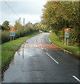 SO1327 : SE boundary of Llangorse by Jaggery