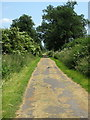 SP7827 : Footpath and national cycle route 51 towards Bletchley by Philip Jeffrey