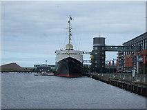 NT2677 : Royal Yacht Britannia, Port of Leith by JThomas