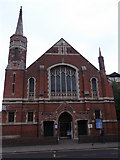 TQ2284 : Willesden Green Baptist Church, High Road NW10 by Robin Sones